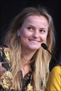 Fatima Moreira de Melo dronk koffie met Jojanneke van den Berge en vertelde over haar stoere imago.   Foto: Rebke Klokke