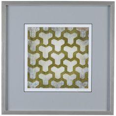 Bassett Mirror Thoroughly Modern Spectrum Symmetry IV Art