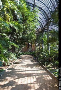 Umbracle (greenhouse) in Parc de la Ciutadella, free!