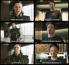 Loki , dailyloki , Iron man, Tony Stark
