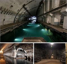 Abandoned Balaklava Submarine Base - Something worth looking into. Very scary and real cold war nuclear apocalypse ready military base.