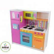 Cocina de madera KidKraft Personalizable con el nombre del niño/a #Navidad #Juguetes