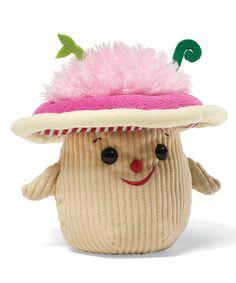 Loving this Mushroom Plush Toy on #zulily! #zulilyfinds