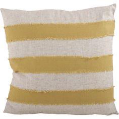 Found it at AllModern - Cap Ferrat Banded Cotton Throw Pillow