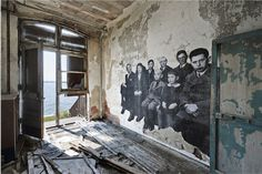 JR Ghosts of Ellis Island. An Unframed project, short preview. - Galerie Perrotin