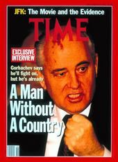 Mikhail Sergeyevich Gorbachev, former comunist leader of the Soviet Union, TIME, december 1991 Time Vault, Mikhail Gorbachev, Socialist State, Online Archive, Newspaper Headlines, Mr President, Time Magazine, Magazine Covers, Cover Pics
