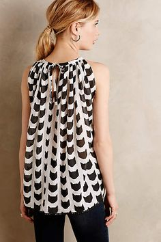 Graphic Cat Tunic - porridge anthropologie.com