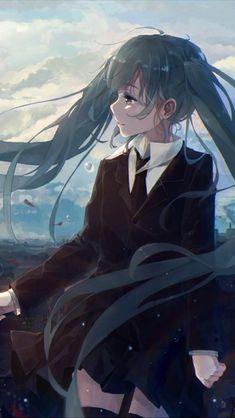anime girl art hatsune miku vocaloid