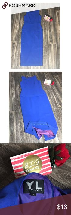 Beautiful Blue Dress💙 Beautiful Dress with small slit in the back center.  - - - • Don't forget to Bundle ! • I Accept Offers  • Instagram : @ExcuseMyBeat YL by Yair Dresses