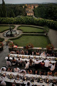 Garden Wedding Breakfast