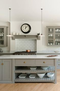 A random collection of tips on kitchens that may come in handy - The deVOL Journal - deVOL Kitchens Devol Kitchens, Shaker Style Kitchens, Devol Shaker Kitchen, Remodeled Kitchens, New Kitchen, Kitchen Decor, Kitchen Lamps, Design Kitchen, Kitchen Ideas