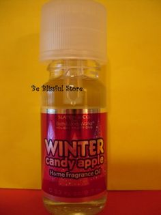 Bath & Body Works WINTER CANDY APPLE Home Fragrance Oil