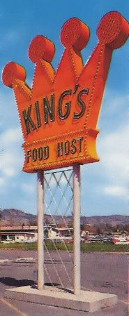 Kings Restaurant, Des Moines.  many moons ago.