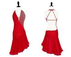 Burnin' Up - Encore Ballroom couture