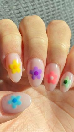 Acrylic Nails Coffin Short, Simple Acrylic Nails, Summer Acrylic Nails, Best Acrylic Nails, Summer Nails, Simple Nails, Cool Easy Nails, Summer Nail Art, Pink Gel Nails