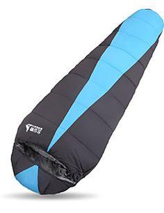Sovepose Rektangulær sovepose Enkel # Hul Bomuld 300g 230X80 Vandring / CampingVandtæt / Åndbarhed / Støv-sikker / Vindtæt / Hold Varm /