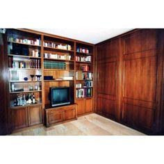 #libreria #library #boiserie #sumisura #legno Liquor Cabinet, Interior Design, Storage, Furniture, Home Decor, Nest Design, Purse Storage, Decoration Home, Home Interior Design