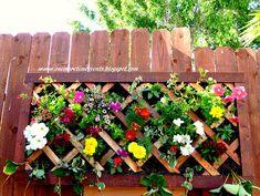 vertical garden wall I Heart Nap Time | I Heart Nap Time - How to Crafts, Tutorials, DIY, Homemaker