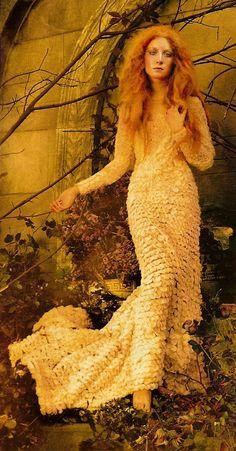 Grace Coddington, Steven Meisel, Saoirse Ronan {Vogue}