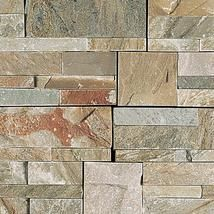 Mix Color Slate Wall Cladding Tiles Natural Stone Wall