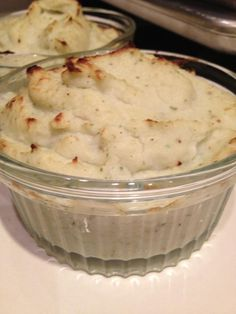"""I made twice baked mashed """"potatoes"""" using cauliflower, Wildtree's Butter Grapeseed Oil, WIldtree's Onion & Chive Blend, minced garlic, and a tiny dash of pepper and sea salt. #paleo    https://www.facebook.com/photo.php?fbid=491494544247254=a.160821097314602.41396.160818850648160=1"""