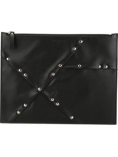 MAISON MARGIELA Studded Clutch. #maisonmargiela #bags #leather #clutch #hand bags