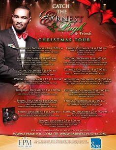 Earnest Pugh and Friends Christmas Tour - Various Cities Ends Dec 23, 2012