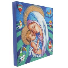 a touching and informal wall plaque. special addition to a new baby or young child's room