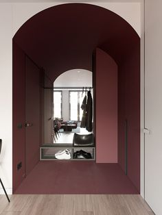 Marsala on Behance Interior Design Guide, Diy Interior, Interior Design Studio, Interior Inspiration, Interior Architecture, Interior And Exterior, Foyer Flooring, New Room, Contemporary Interior