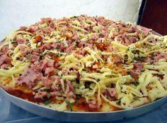 Receita de Pizza de Presunto e Bacon - Cyber Cook Receitas...