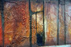 Kasbah » Ian Murphy Paintings Rusty Metal, Gcse Art, Built Environment, Mixed Media Canvas, Art Sketches, Amazing Art, Street Art, Paintings, Texture