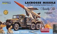 Revell / Monogram - LaCrosse Missile 1/32 - re-issue of Renwall kit - 2016
