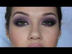 Dark Purple Smoky Eye Makeup Tutorial