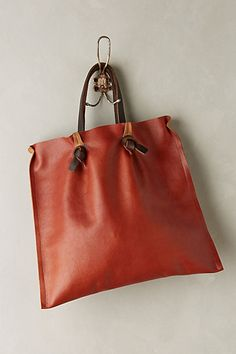 Tucked Pinch-Pleat Tote #anthrofave #anthropologie