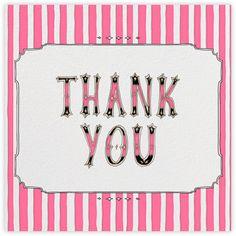 Cirque (Thanks) - Pink - Paperless Post