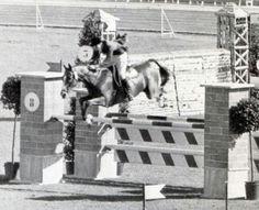 George Morris Rome Olympics 1960.  Cool pic!