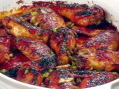 Sticky Wings- always a hit!  Sometimes I throw frozen wings and the sauce in the crockpot on low for 6 hours.