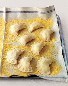 Martha's basic pierogi recipe - very good