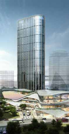 Zhongxun Times, Chongqing, China by 10 Design :: 33 floors