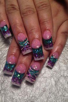 Acrylic nails by Jeannie