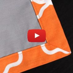 Use mitered corners to create a polished look for your next sewing project.sewing tutorials & tipsSewing for home. Ideas, tips, tutorials and patterns to keep your home beautifully handmade. Sewing Basics, Sewing Hacks, Sewing Tutorials, Sewing Crafts, Sewing Tips, Diy Crafts, Fabric Crafts, Sewing Ideas, Sewing Mitered Corners