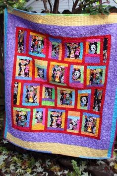 Day of the Dead | STeyeLE | Pinterest | Lap quilts, Machine ... : day of the dead quilt pattern - Adamdwight.com