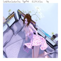 THIRD LIFE [Frees, Gifts & Hunts]: ROOTS & WINGS CLOTHING - SWEETHEART DRESS