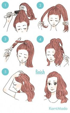 This is so smart! #WomensHairstylesMediumArticles #Longhairtips