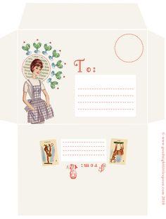 Cute printable Envelope