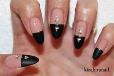 Fall Nails: Studded Leather