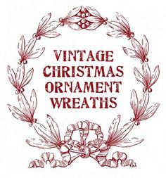 How to make a vintage Christmas ornament wreath
