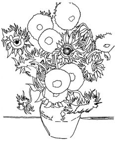 Famous-artist-coloring-pages