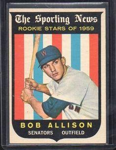 1959 Topps #116 Bob Allison RS RC - Collector Revolution