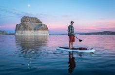 Lake Powell, Utah, California. Paddleboard.